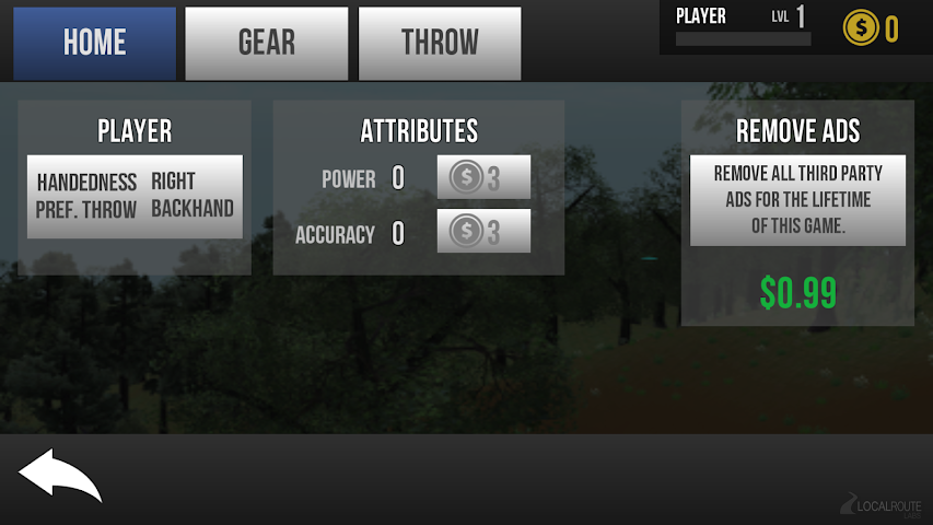 android Disc Golf Unchained Screenshot 1