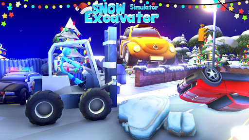 Heavy Snow Plow Excavator Simulator Game 2020 apkmr screenshots 2