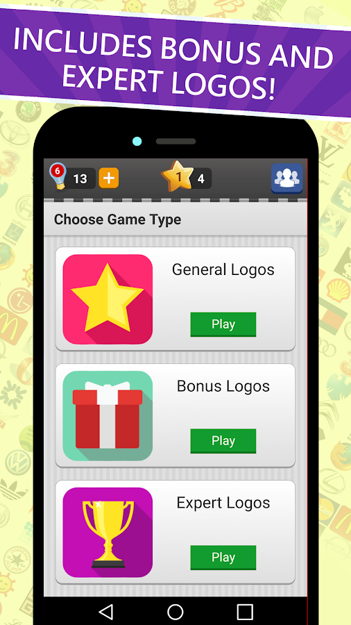 Bien connu Logo Game: Guess Brand Quiz - Android Apps on Google Play TB45