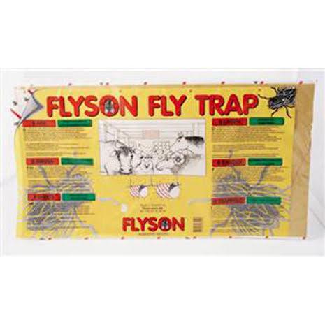 Flugpapper FLYSON Fly Trap 60 x 32 cm 8-pack