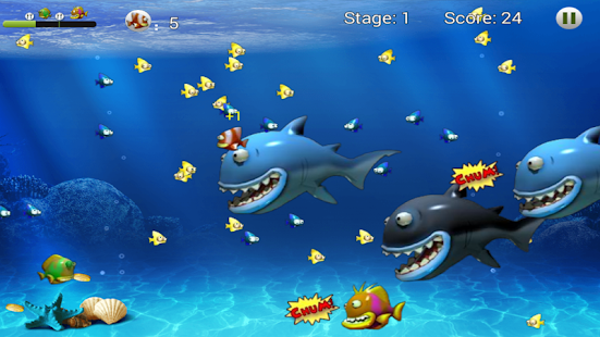 Feeding frenzy eat fish for pc and mac for Feed and grow fish free download full game