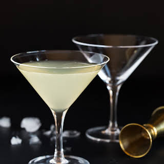 Elderflower Martini.