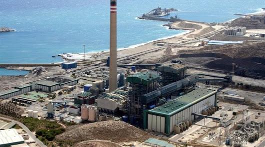 Instalaciones de la central térmica Litoral de Endesa en Carboneras