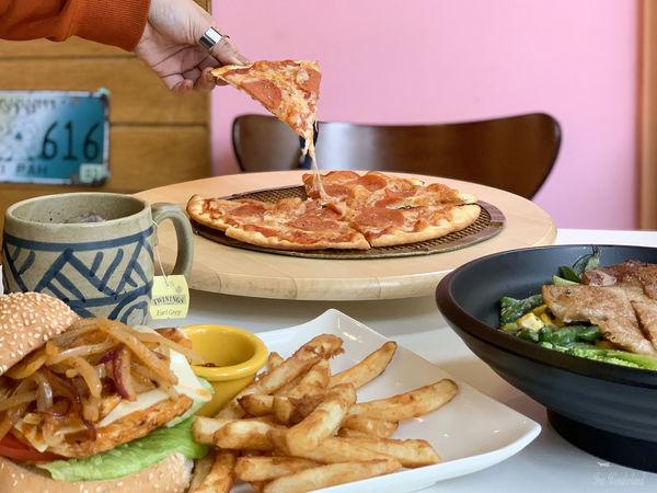 MaYa Pizza手工薄脆披薩美式料理專賣店|價格親民,不收服務費・必點手工披薩!文中附菜單