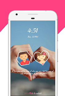Been Love Lock Screen - Love Lock Screen- Lovedays - náhled