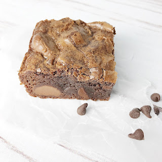 Quadruple Chocolate Fudge Brownies Recipe