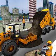 City Carpet Road Construction Sim APK for Bluestacks