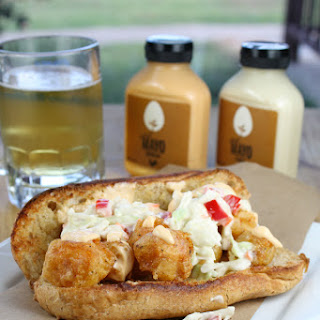 Beer Battered Catfish Po Boys.