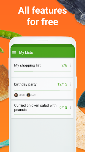 Shopping list - Listonic screenshot 8