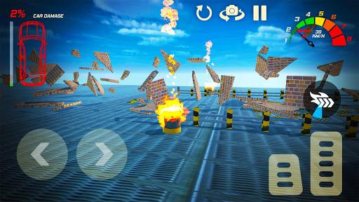 Télécharger gratuit Smash Cars Destruction Driving APK MOD 2