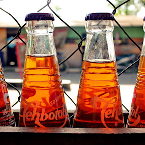 Freshness of Tea Bottle SOSRO by Rudy Kurniawan - Products & Objects Business Objects