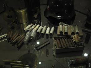 Photo: ... i amunicji co niemiara.