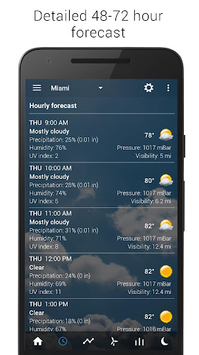 3D Flip Clock & Weather screenshot 7