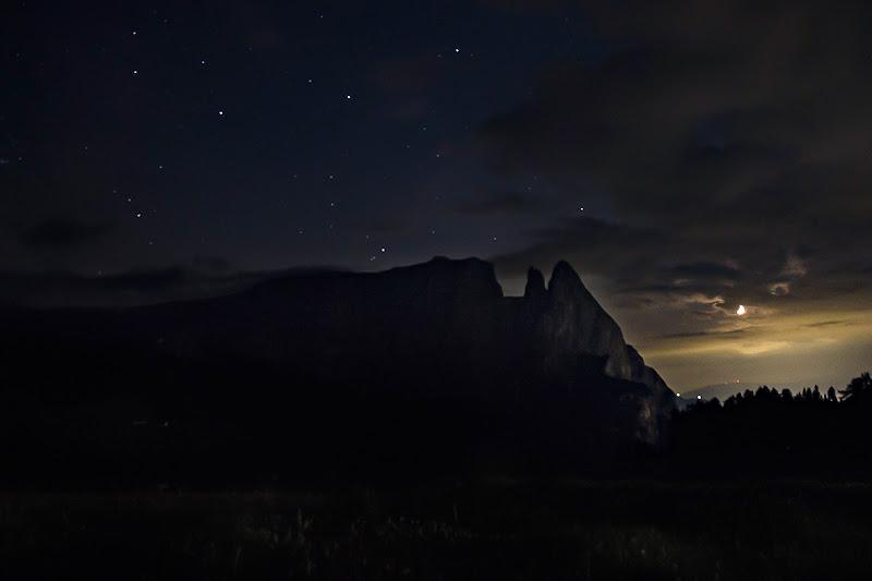 Sciliar in notturna di claudio_busatto