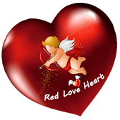 Red Love Heart theme