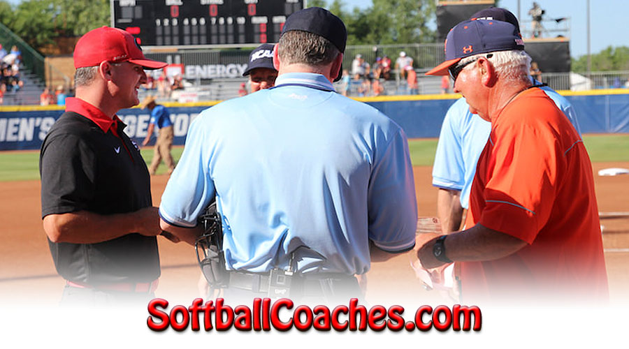 Womens Fastpitch Softball Coaches for WCWS
