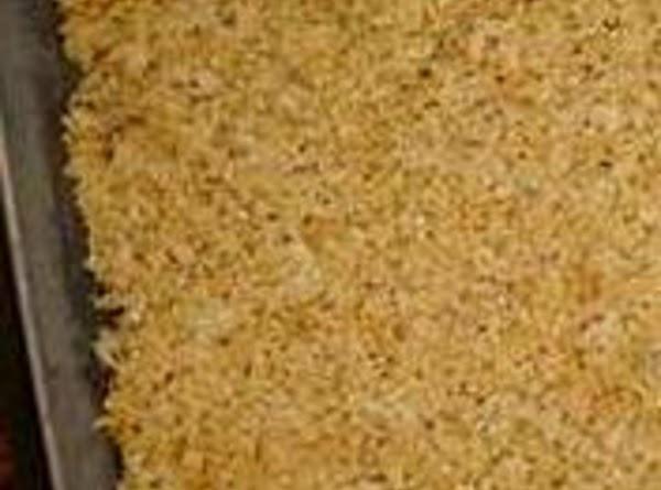 Riced Crispie Treats, Grandma's Recipe