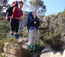 Photo: Conquering Mount Freycinet and Graham!