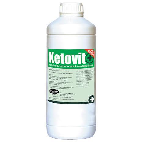 Ketovit+ 1 liter Energitillskott för Får, Getter & Kor