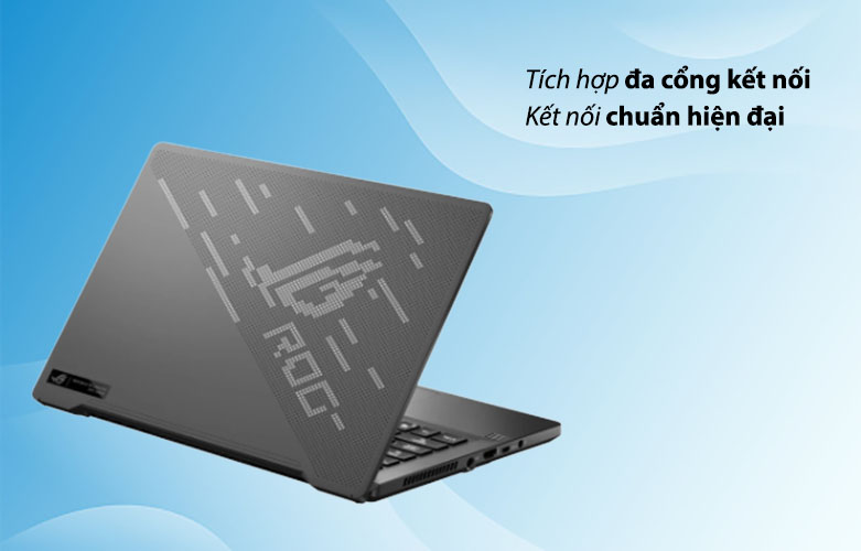 Laptop ASUS ROG Zephyrus G14 GA401QC-HZ022T 90NR05T6-M00500 | Đa dạng cổng kết nối