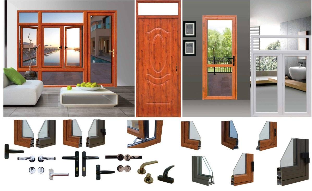 Cửa nhôm Xingfa giúp tăng tính thẩm mỹ của ngôi nhà