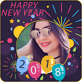 New Year Photo Frame