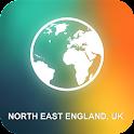 North East England, UK Map icon