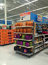 Photo: The back to school section is shrinking and the Halloween section is quickly growing.  It's still way too early for me to think about that though.
