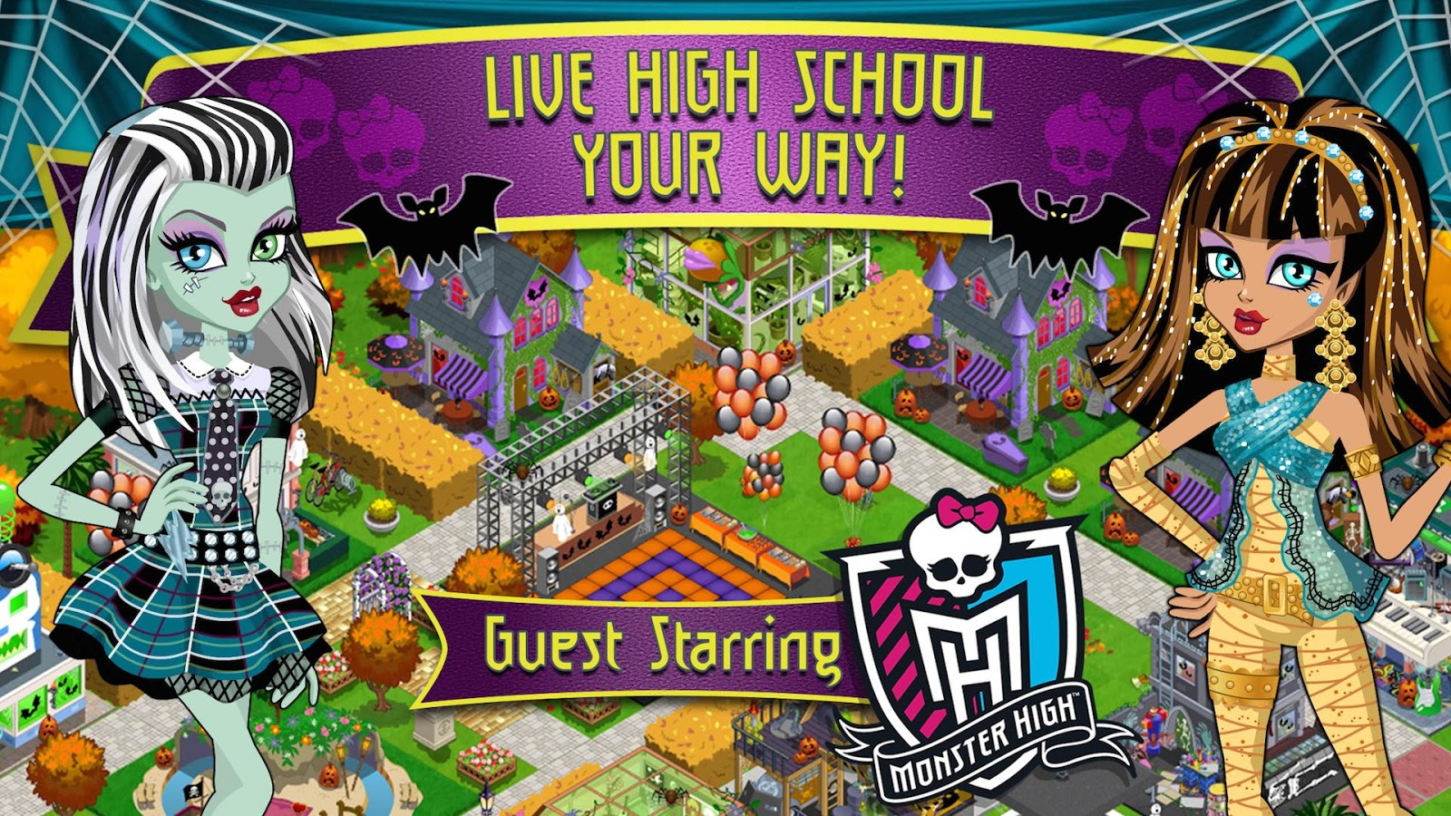 High School Story+Monster High- screenshot