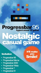 Progressbar95 - easy, nostalgic hyper-casual game 0.4875
