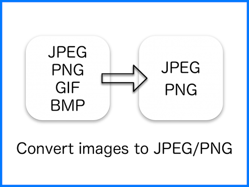 Image of JPEG / PNG Image File Converter 2.6.0 1