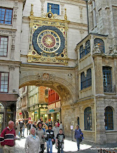 Photo: 2008-09-06. Rouen. Grand Horloge.  www.loki-travels.eu