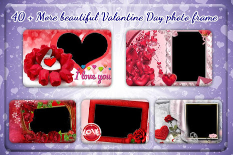 Download Valentine Day Photo Frame : Photo Editor For PC Windows and Mac apk screenshot 1