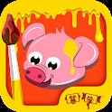 Kids Paint Domestic Animals icon