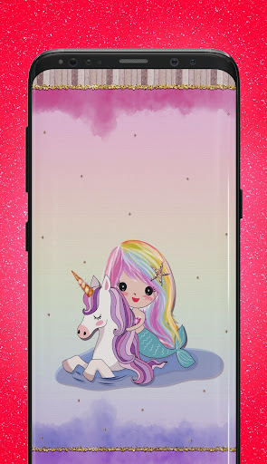 Cute Unicorn Wallpapers Kawaii Backgrounds App Store Data Revenue Download Estimates On Play Store