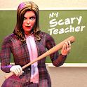 Scare Scary Evil Teacher 3D: Spooky & Creepy Games icon