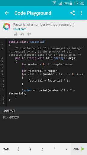 Learn Java 3.8.1 Screenshots 4