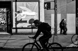 Photo: the Bowery New York City 2013 www.leannestaples.com #newyorkcityphotography  #blackandwhitephotography  #streetphotography +Arnold Goodwayfor #streetpics  #shootthestreet