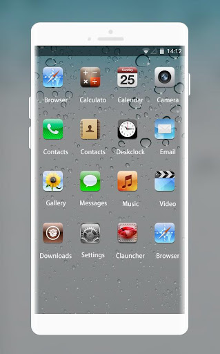 Theme for iPhone 4 HD  screenshots 2