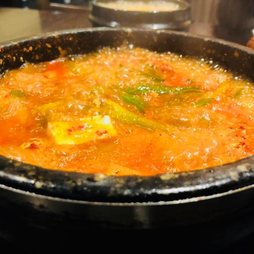 Kimchi Stew with Tuna & Tofu