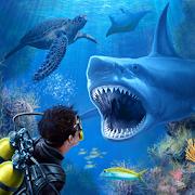 Shark VR juego de tiburones para Google Carboard