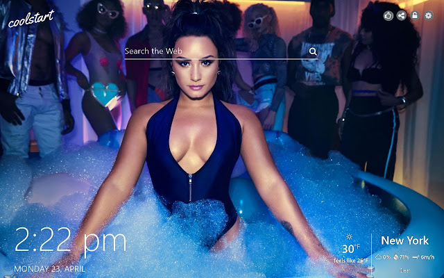 Demi Lovato HD Wallpapers Music New Tab Theme
