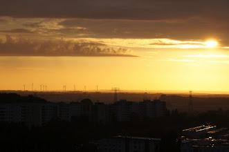 Photo: Sonnenaufgang über Berlin (mal anders)
