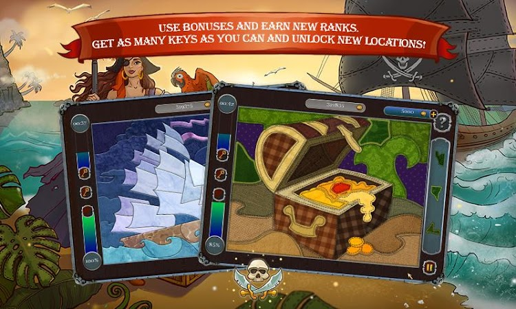 Pirate Mosaic Puzzle v1.0 + Unlock
