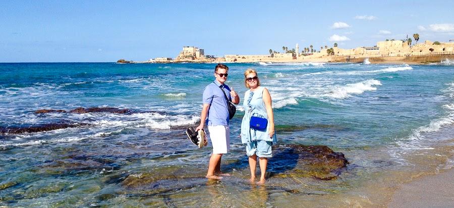 Экскурсия в Кейсарии, Израиль