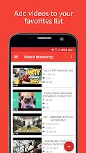 Videos Monitoring screenshot thumbnail