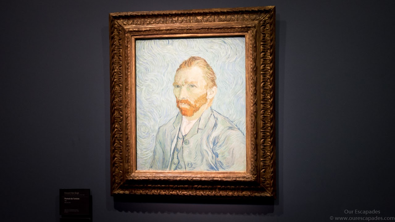 A painting of Van Gogh