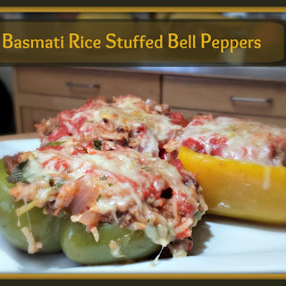 Basmati Rice Stuffed Bell Peppers
