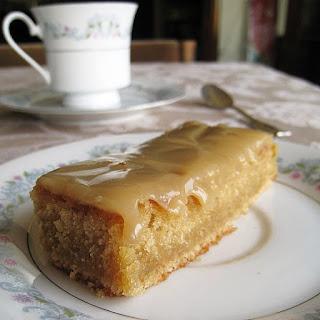 Ginger Fudge Cake.