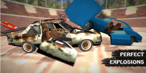 Demolition derby arena : car crash for PC